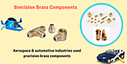Reliable Precision Brass Turned Components Manufacturers India