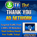 The Thank You Ad Network -free lifetime traffic