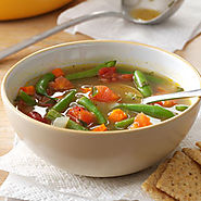 Tomato Green Bean Soup
