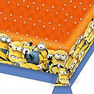 Minion Party Table Cover