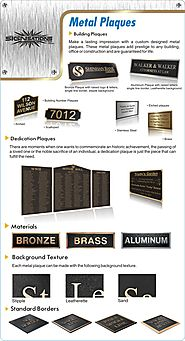 Visit SIGNsations to Buy Name Plaques and Awards