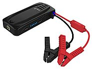 Ivation Mini Portable Car Jump Starter Power Bank w/16,000mAh Capacity - Supplies Car Battery w/Boost of 600 Amps - F...