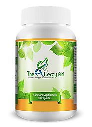 #1 Recommended Best Natural Allergy Treatment - The Allergy Aid - Fast and Ongoing Non-drowsy Allergy Relief. Promote...