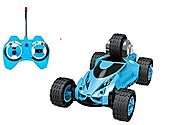 Haktoys HAK123 5 Wheeled X-Terrain RC Stunt Car - Colors May Vary