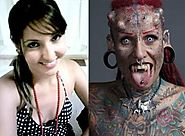 What The Hell Was She Thinking?! : Beautiful Mexican Woman Transformed Herself Into A Living Horror!