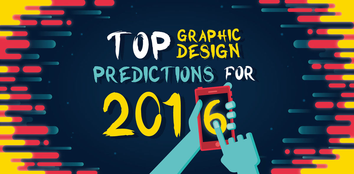 Headline for Graphic Design Trends of 2016
