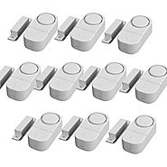 GetTen® 10Pcs Wireless Home Door Window Burglar DIY Safety Security ALARM System Magnetic Sensor