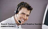 0800-078-6877 - Note Down The Contact Number of Yahoo Mail - Tech Expert Help Number