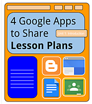 Instructional Fluency: 4 Google Apps to Share Lesson Plans