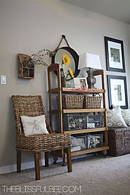 Using Wicker Furniture Indoors - * THE COUNTRY CHIC COTTAGE (DIY, Home Decor, Crafts, Farmhouse)