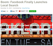 Boom: Facebook Finally Launches Local Search