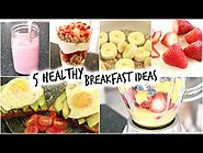 5 Healthy Breakfast Ideas for School! (Quick and Easy)
