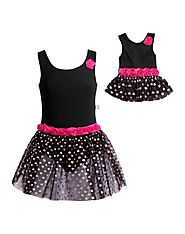 Rose Dance Set with Matching Outfit for 18 inch Play Doll