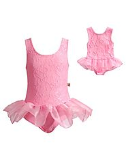 """Pretty in Pink"" Dance Set with Matching Outfit for 18 inch Play Doll"