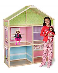 Shop for Wooden Doll house for 18 inch dolls | Dollie & Me