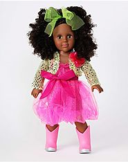 """Party Princess"" Dollie - 18 inch Play Doll (African American)"