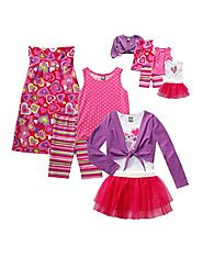 """Pink & Lovely"" Mix & Match Set (12 pcs) For Girl and 18 Inch Play Doll"