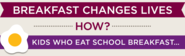 Find out how your local school serves breakfast