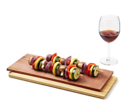 Wine Infused Cedar Grilling Plank Set