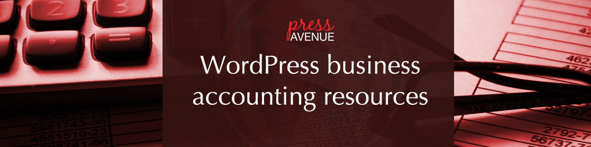 Headline for WordPress Business Accounting Resources