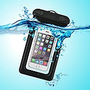 Waterproof Case, Waterproof Pouch, iThrough Ultra Universal Waterproof Pouch, Waterproof Case with Touch Responsive T...