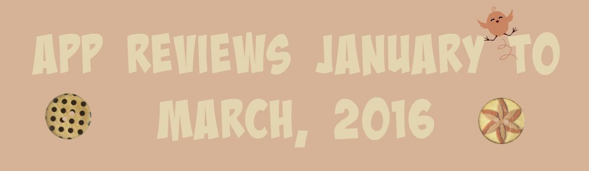 Headline for App Reviews and Articles, January - March, 2016