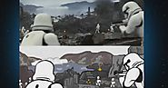 'Star Wars' trailer recreated entirely in Snapchat art