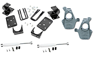 07-13 Chevy & GMC 1500 2wd & 4wd 2/4 Deluxe Lowering Kit - Part# PRO-24-34000-1