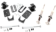 07-13 Chevy & GMC 1500 2wd 2/4 Economy Lowering Kit - Part# PRO-24-34000