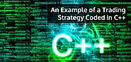 An Example of a Trading Strategy Coded in C++