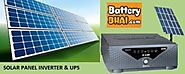 Solar Inverters/UPS, Solar Charge Controllers Online at BatteryBhai.com