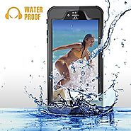 iPhone 6s Plus / 6 Plus Waterproof Case, GearShield Sport Waterproof, Dust Proof, Snow Proof, Shock Proof Protective ...