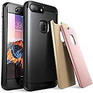iPhone 7 Plus Case, SUPCASE Water Resistant Full-body Rugged Case with Built-in Screen Protector with 3 Interchangeab...