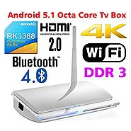 SUPVIN RK3368 Octa Core tv box android 5.1 smart tv box KODI Full Loaded Support full HD 3D 4K 1GB 8GB HDMI 2.0