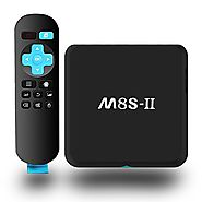 2017 Model GooBang Doo M8S-II Android 6.0 TV Box 2GB/8GB Unique GooBang Doo Server(OTA) Supports Dual-Band Wifi 5Ghz ...