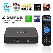 2017 Smart Android TV Box 3GB 32GB,OTTBOX Z Super Android 7.1 Amlogic S912 Octa Core 3D 4K HD 2.4G/5G Dual Band Wifi ...