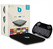 Tblaze S912 Streaming Media Player, Android TV Box with TV Set Top Box   and Ready to Stream Center