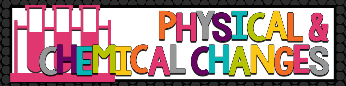 Headline for Science - Physical and Chemical Changes
