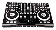 Epsilon Quad-Mix Powerful 4-Deck Professional MIDI/USB DJ Controller