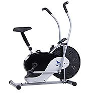 Body Rider Exercise Upright Fan Bike (with UPDATED Softer Seat)