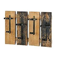 Beautiful Rustic Wall Mounted Hanging Wine Racks