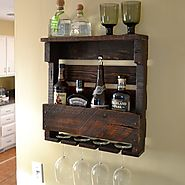 Rustic Wall Mountable Wine Racks - Tackk