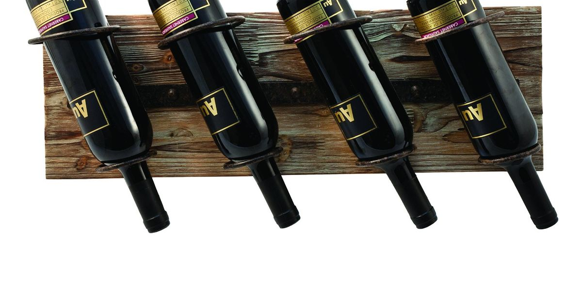 Headline for Rustic Wall Mountable Hanging Wine Racks