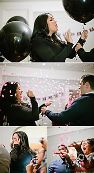Fun Gender Reveal Party with a Mustaches and Lips Theme | The Little Umbrella