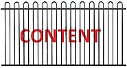 With fence around content