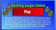 Holiday Logic Game
