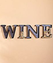 Decorative Letter Wine Cork Holders
