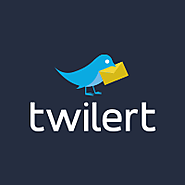 Twitter alerts via email by Twilert