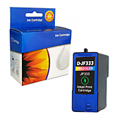 Shop Online Re-manufactured Ink Cartridge For Dell Jf333 Color at $15.49