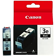 Original Ink Cartridge for Canon BCI 3e BK Black (4479a003aa)